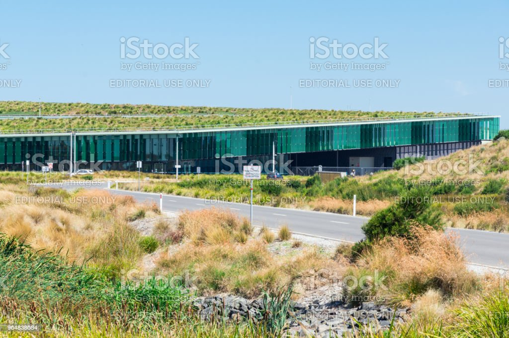 Victorian Desalination Plant at Dalyston near Wonthaggi in Australia. royalty-free stock photo
