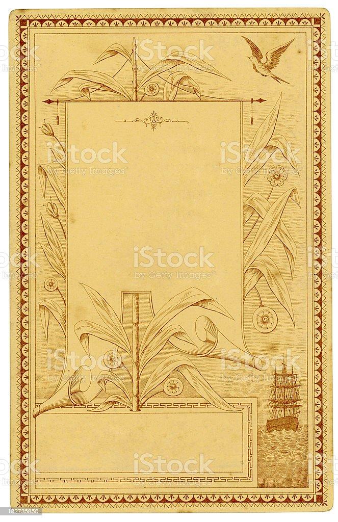 Victorian design element royalty-free stock photo