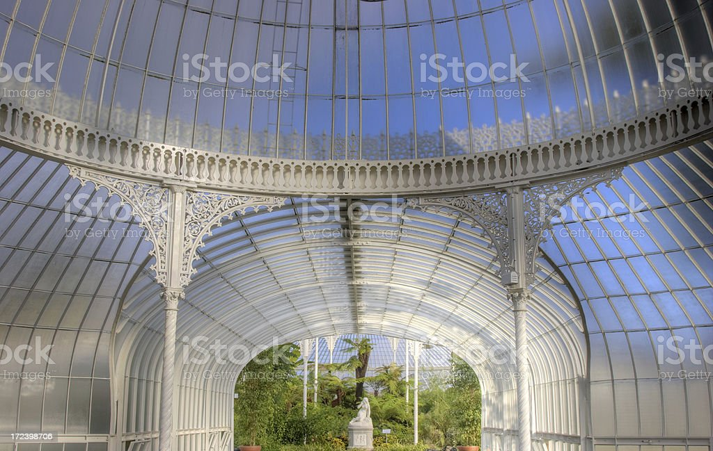 Victorian Glasshouse - The Kibble Palace royalty-free stock photo