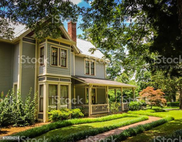 An example of a beautiful southern Victorian home in Georgia.
