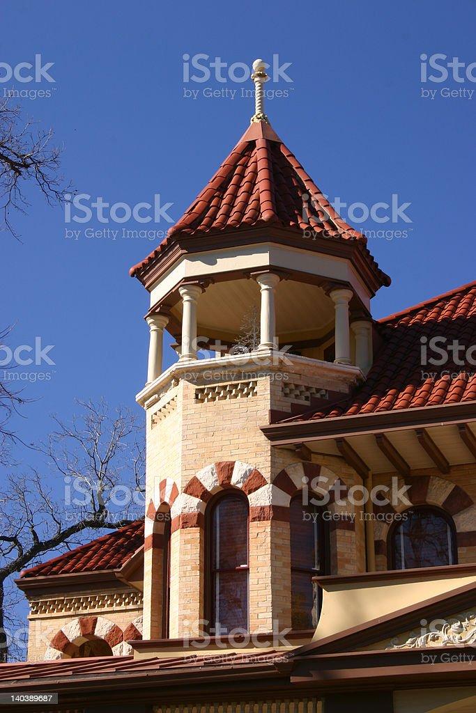 Victorian House San Antonio royalty-free stock photo
