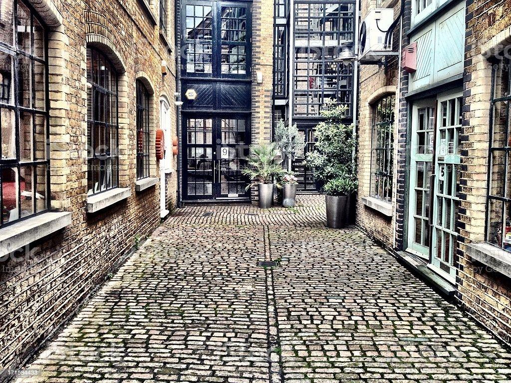 Victorian industrieller Architektur, London. – Foto