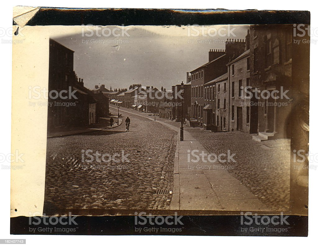 Victorian London Street royalty-free stock photo