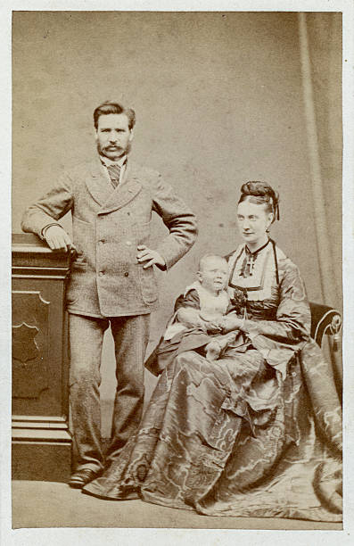 Victorian Man 1880s Victorian scanned photograph of a man 1880 stock pictures, royalty-free photos & images