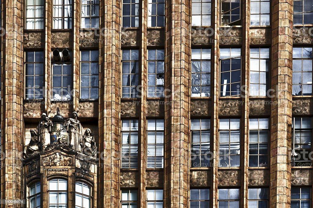 Victorian Office Building Facade stock photo