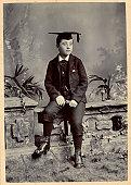 Victorian Schoolboy Vintage Photograph
