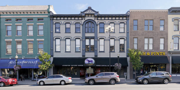 Victorian Square - Lexington - Kentucky stock photo