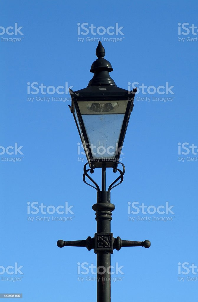Victorian street lamp royalty-free stock photo