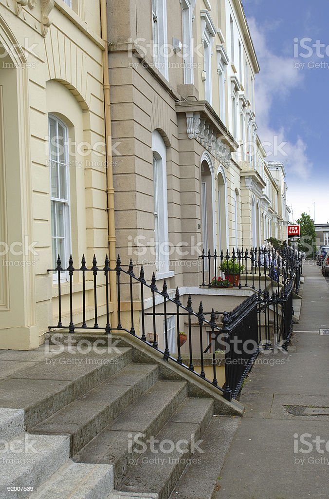 Victorian Street royalty-free stock photo