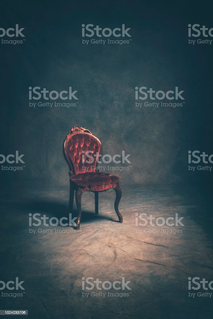 Victorian Style Chair stock photo