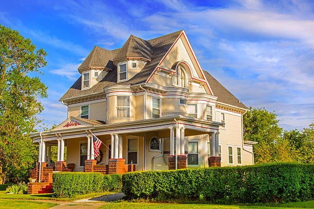 Victorian Style Home stock photo