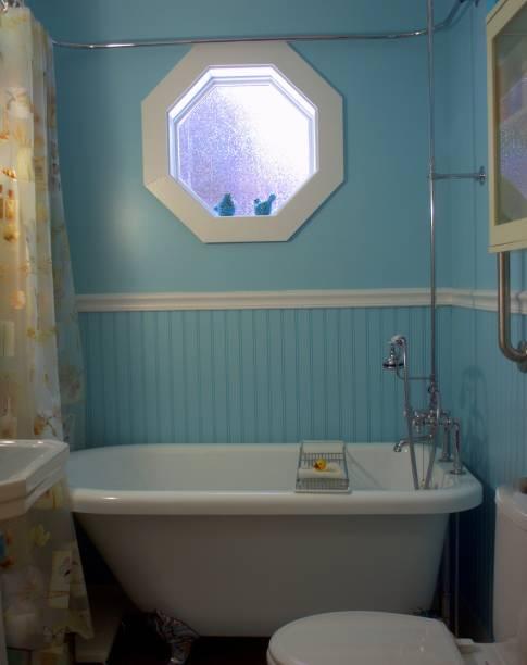 Viktorianischen Stil Badewanne – Foto