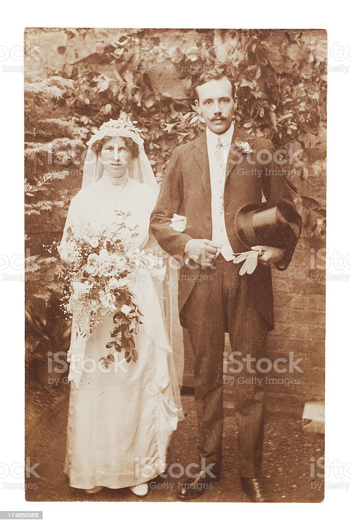 Victorian Wedding royalty-free stock photo