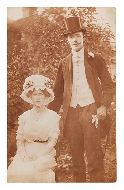 victorian hochzeit - hochzeitsbilder stock-fotos und bilder