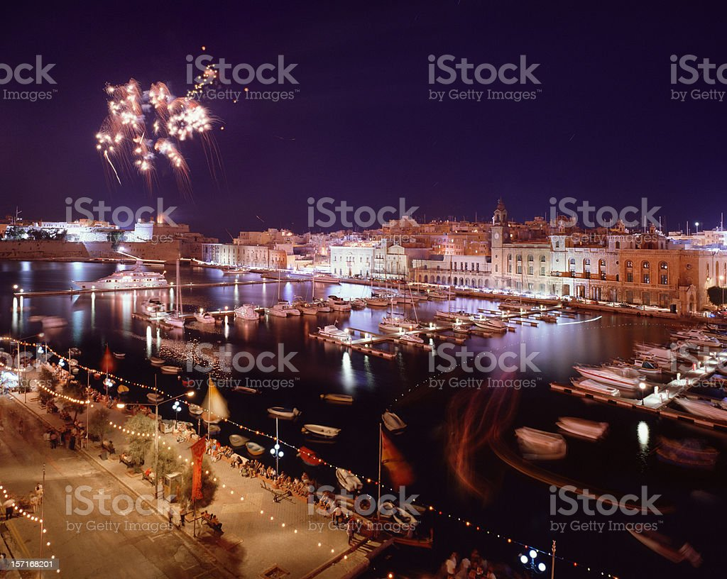 Vittoriosa marina, Malta. royalty-free stock photo