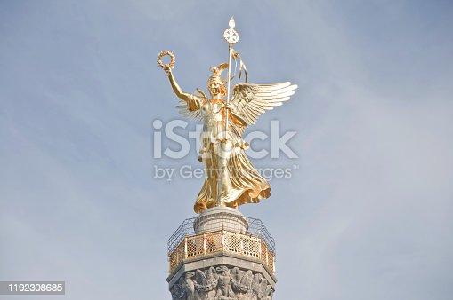 868668568 istock photo Victory Column aka Goldelse in Berlin Germany 1192308685