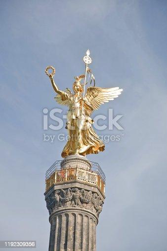 868668568 istock photo Victory Column aka Goldelse in Berlin Germany 1192309356