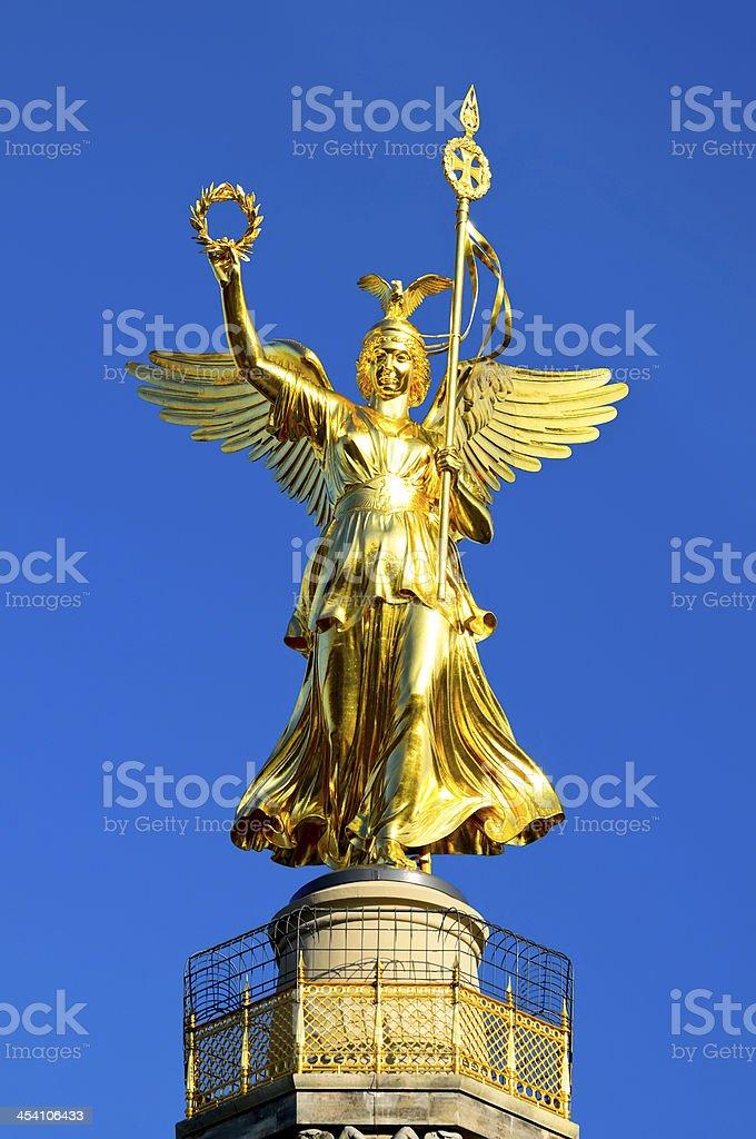 Victory column berlin stock photo