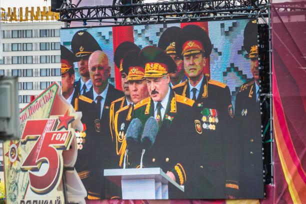 dzień zwycięstwa mińsk - białoruś zdjęcia i obrazy z banku zdjęć
