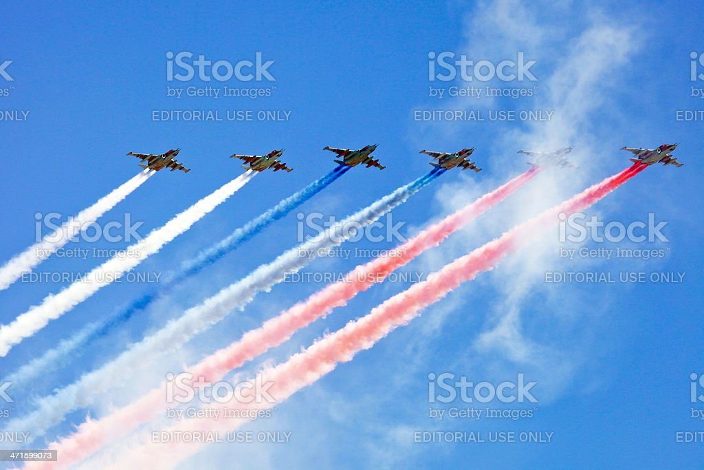 Victory Day, Moscow stock photo