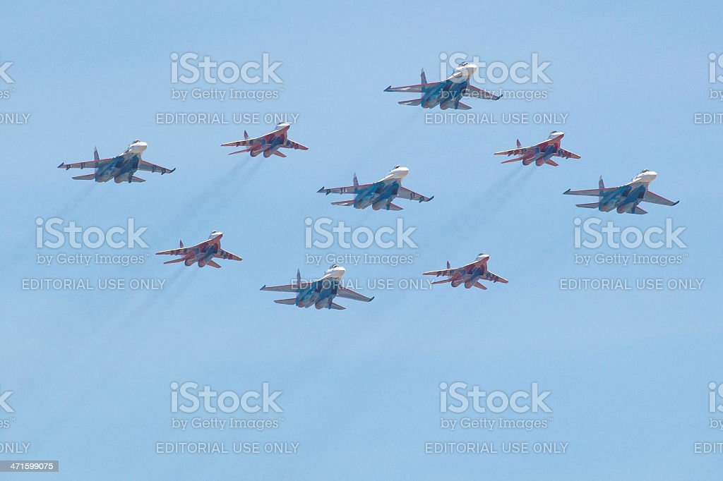 Victory Day, Moscow royalty-free stock photo