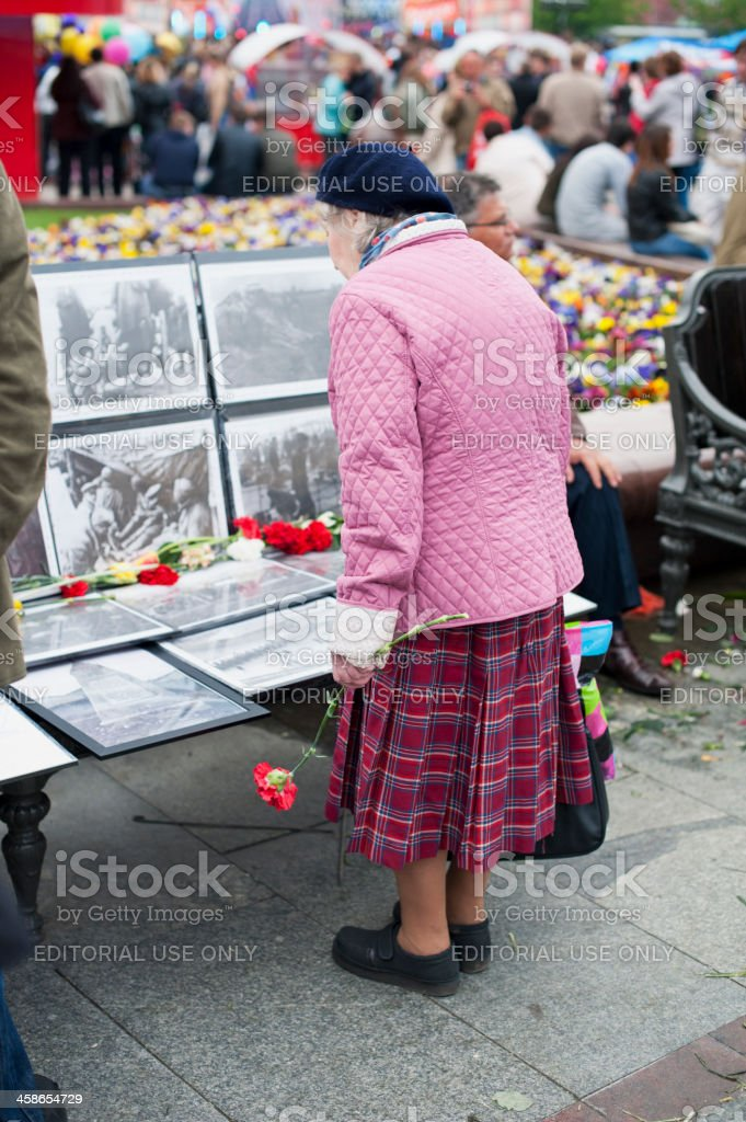 Victory Day of Russia royalty-free stock photo