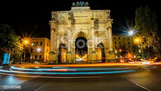 Victory Gate (siegestor) in Munich