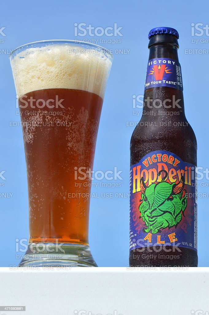 Victory HopDevil India Pale Ale IPA royalty-free stock photo
