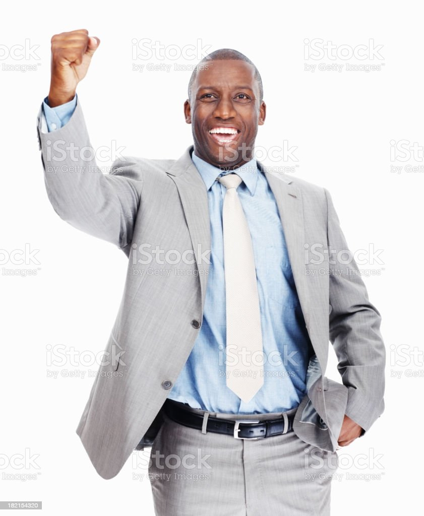 Victory is achievable royalty-free stock photo