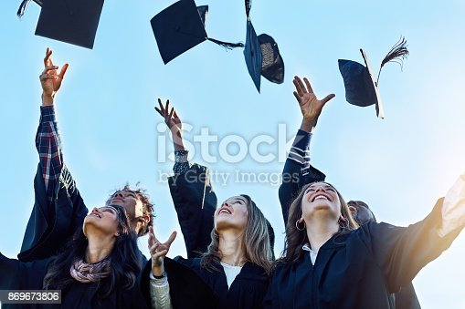 istock Victory is ours! 869673806