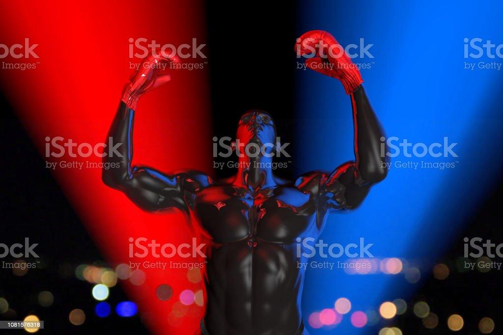 Victory of Legend Champion stock photo