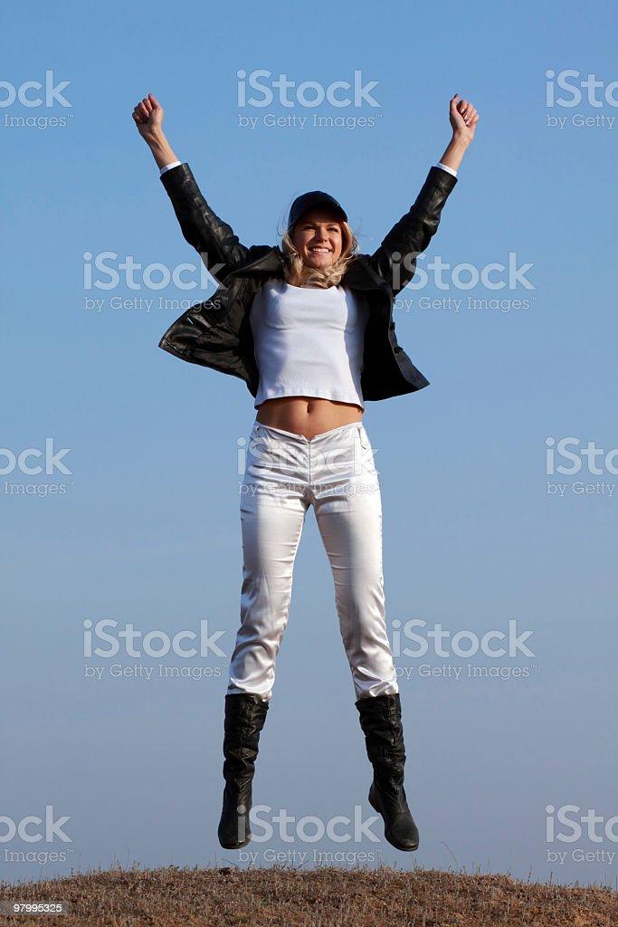 Victory! royalty free stockfoto