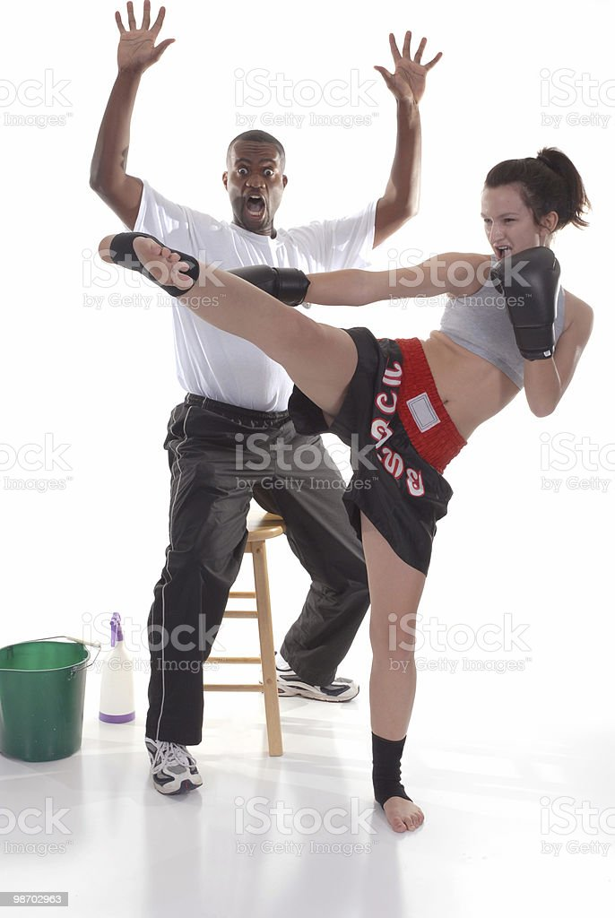 Victory royalty-free stock photo
