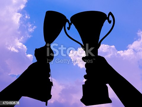 544347868 istock photo victory silhouette 470460878