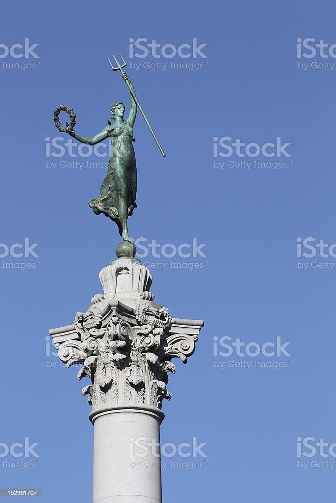 Victory Statue stock photo