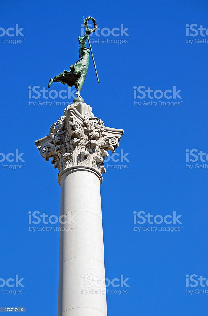 Victory Statue royalty-free stock photo