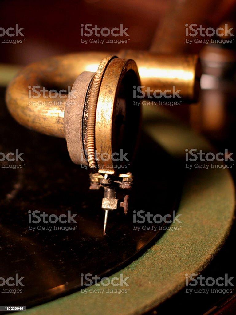 Victrola Needle royalty-free stock photo