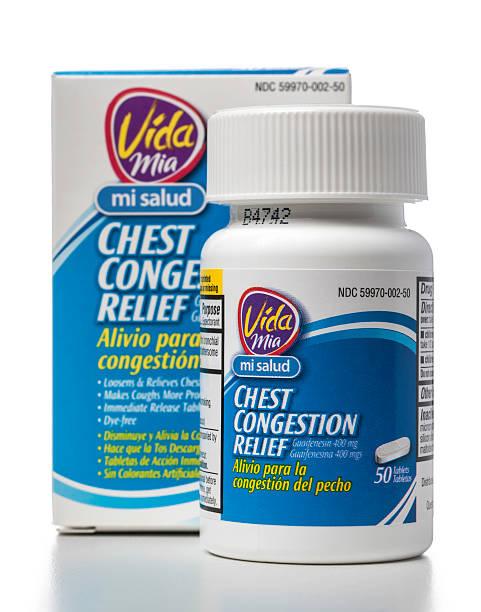 vida mia mi salud chest congestion relief - salud stok fotoğraflar ve resimler