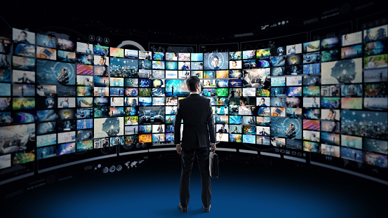 Video Archives Concept Stock Photo - Download Image Now