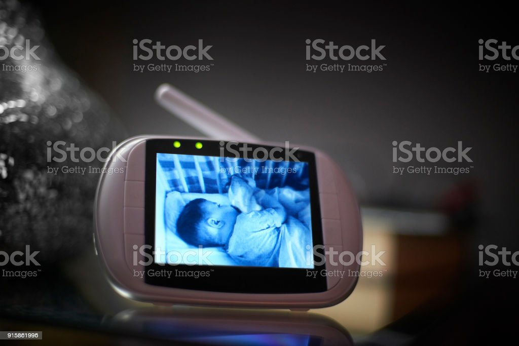 Video Baby Monitor stock photo