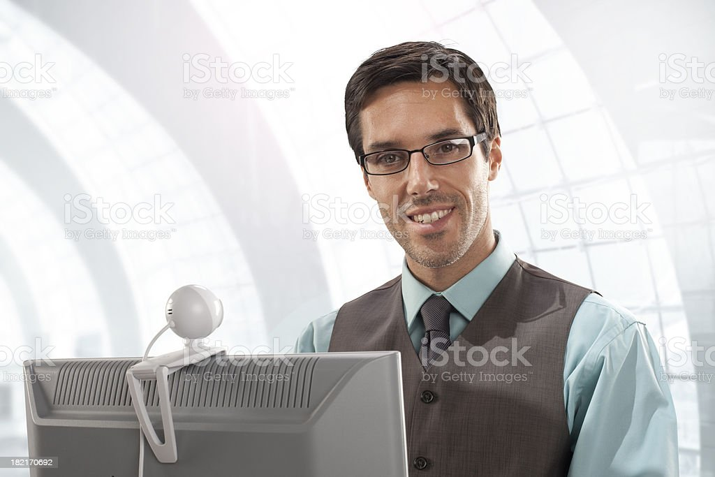video call royalty-free stock photo