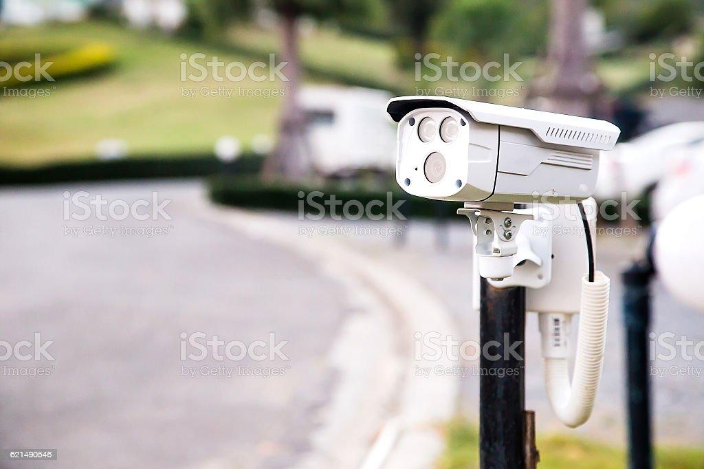 Video Camera, CCTV Security System Lizenzfreies stock-foto