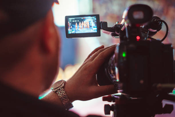 Video-Kamera des Ereignisses – Foto