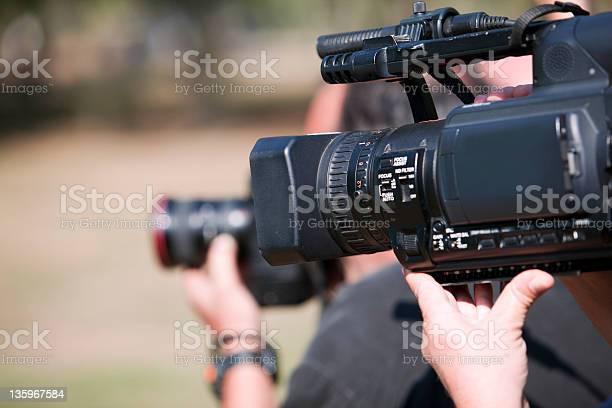 Camcorder Stockfoto und mehr Bilder von Arbeiten