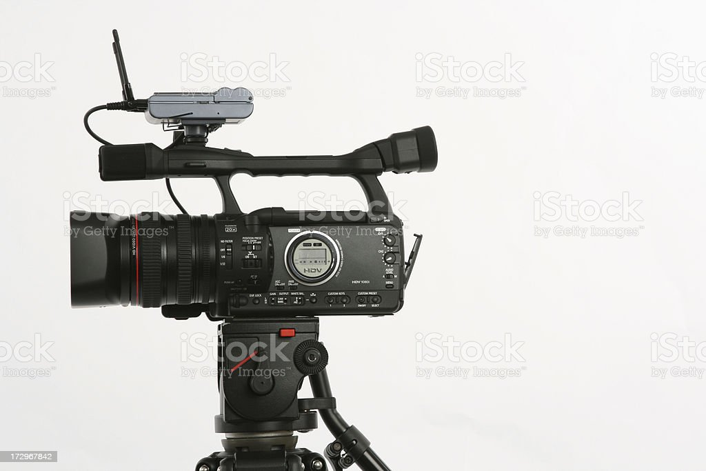 HD Video Camera royalty-free stock photo