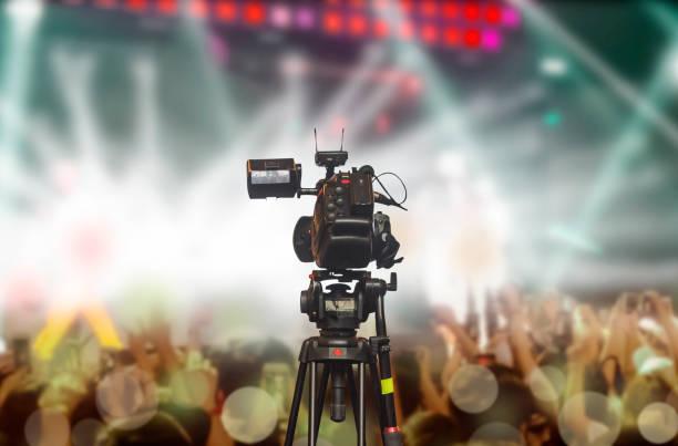camcorder - film oder fernsehvorführung stock-fotos und bilder