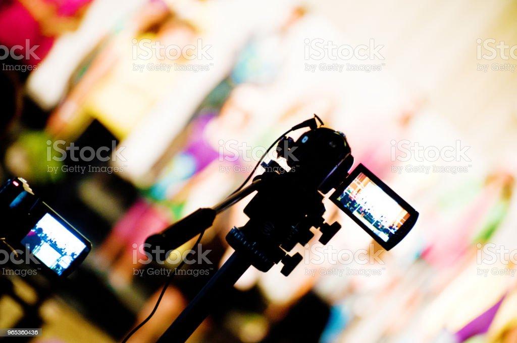 Video Camera zbiór zdjęć royalty-free