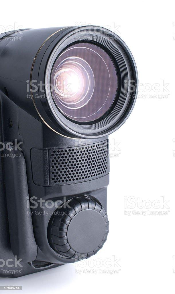 Caméra vidéo photo libre de droits