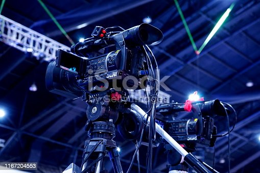 1056306726istockphoto Video camera standby for recording 1167204553