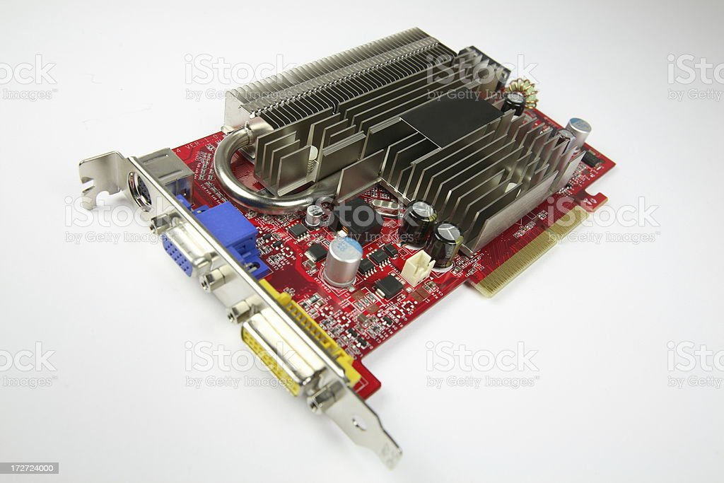 VGA Video Card royalty-free stock photo